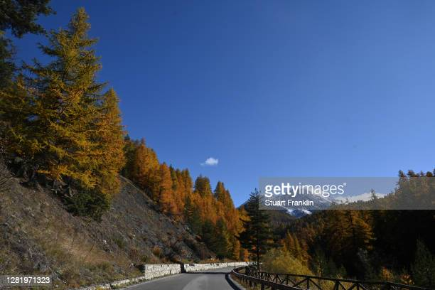 Sestriere / Landscape / Mountains / Snow / during the 103rd Giro d'Italia 2020, Stage 20 a 190km stage from Alba to Sestriere 2035m / @girodiitalia /...