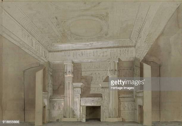 Set design for the Opera Aida by Giuseppe Verdi Paris Théâtre national de l'Opéra 22031880 1880 Found in the collection of Bibliothèque Nationale de...