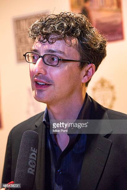 Set Designer Beowulf Boritt attends the opening night party for Act One at The Plaza Hotel on April 17 2014 in New York City