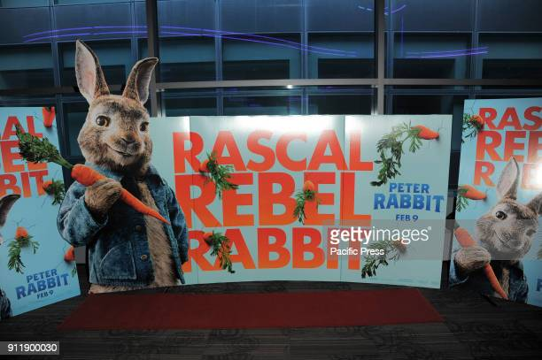 Set for Columbia Pictures and Sony Pictures Animation Present The New York Influencer Screening of Peter Rabbit at Regal Cinema Battery Park