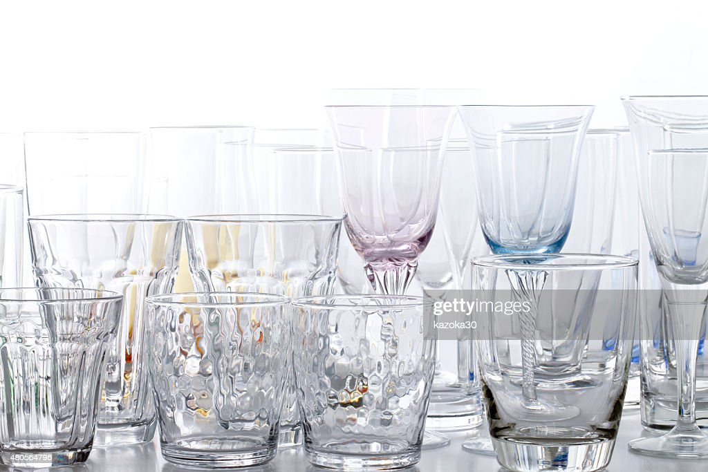 set of glass : Stock Photo