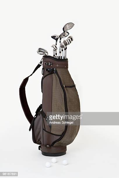 A set of golf clubs