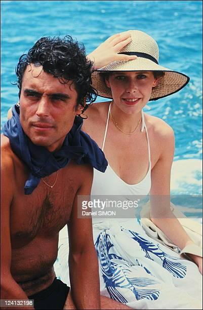 Set of 'Good bye Emmanuelle' with Silvia Kristel In Seychelles In April 1977 Ian McCone Silvia Kristel