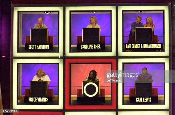 Set of Hollywood Squares during 'Hollywood Squares' Taping 2000 in Los Angeles California United States
