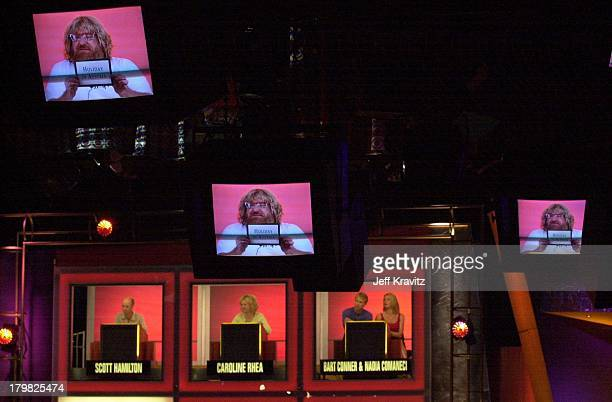 Set of Hollywood Squares during Hollywood Squares Taping 2000 in Los Angeles California United States