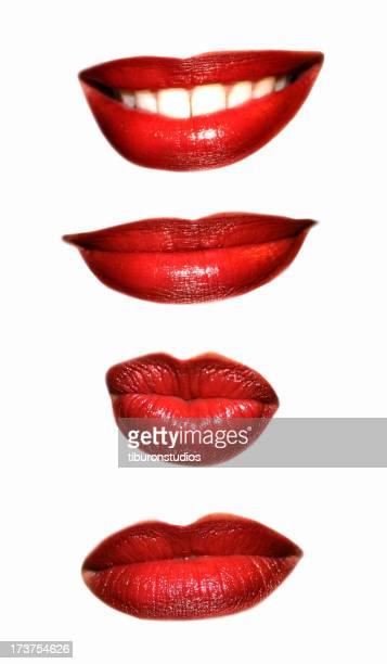Set of Mouth Expressions