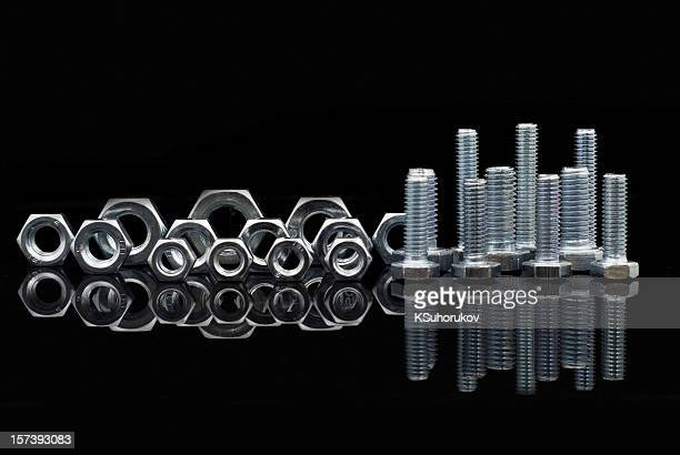 Set of nuts and bolts