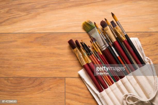 Set Of Paintbrushes
