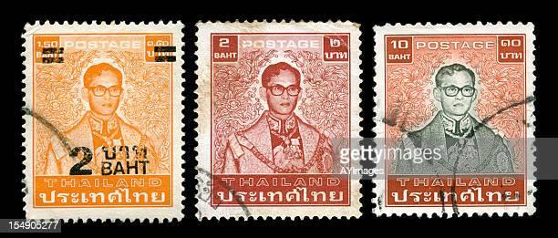 Série de timbres de Thaïlande