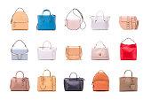 A set of summer women's bags