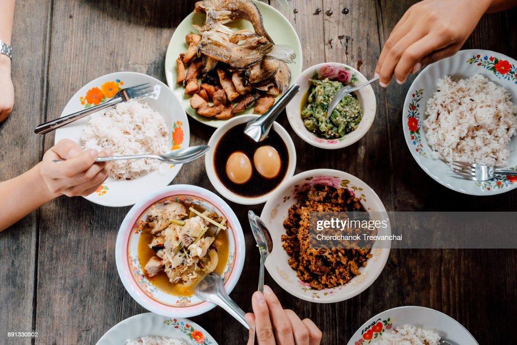 set of Thai food : Stock Photo
