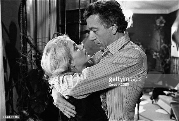 Set of the musical comedy 'Alice au pays des merveilles' In France On January 18 1980JeanPierre Cassel with Sophie Barjac