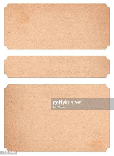 Vintage Papier Badges XXL