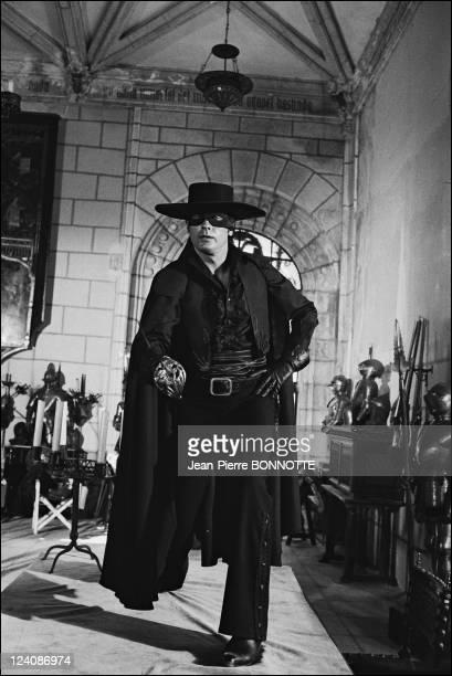 Set of Zorro by Duccio Tessari In France In 1975 Alain Delon