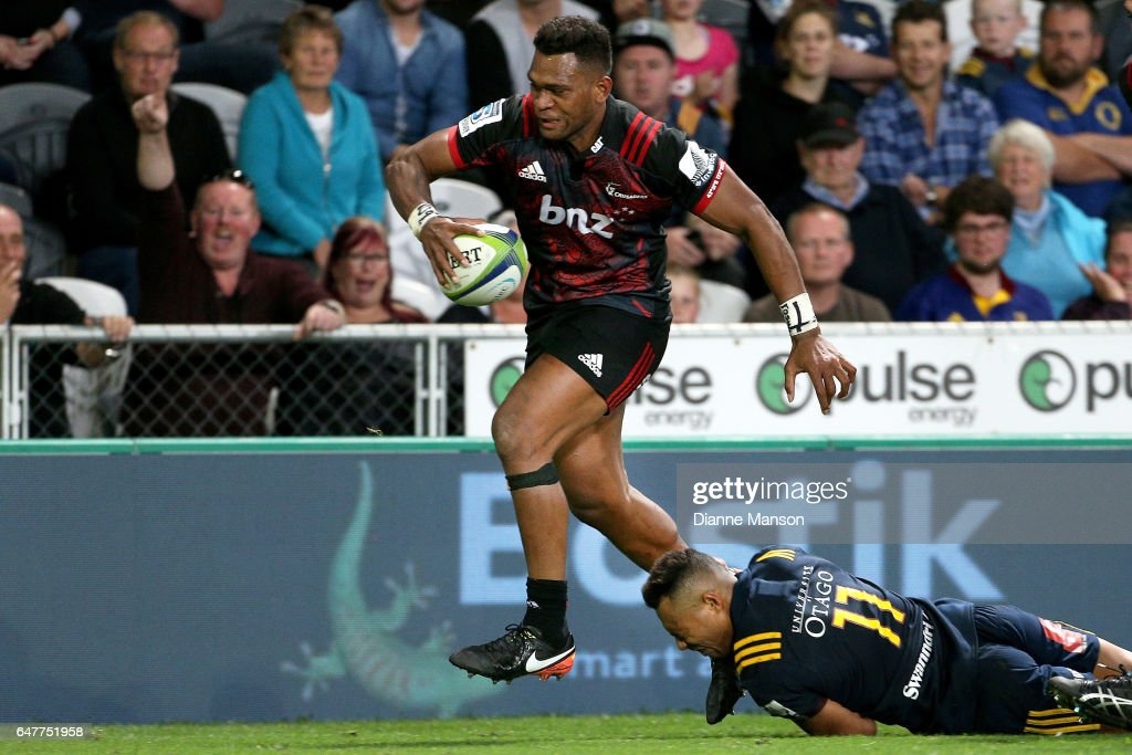 Super Rugby Rd 2 - Highlanders v Crusaders