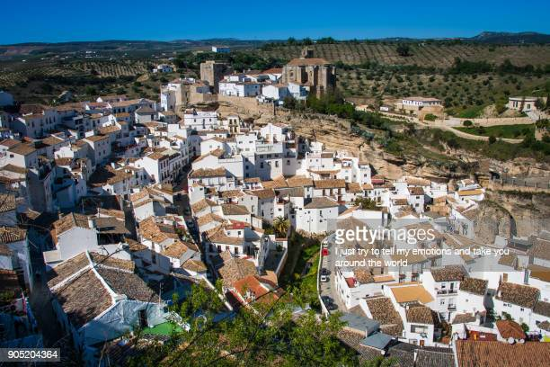 Setenil de las Bodegas, Cadiz province, Andalusia, Spain