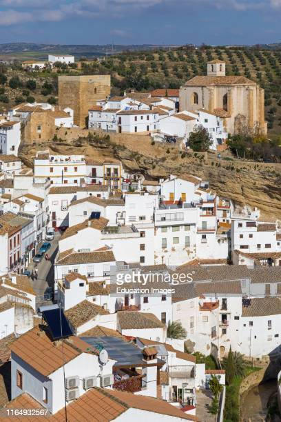 Setenil de las Bodegas, Cadiz Province, Spain Commonly known simply as Setenil Overall view In the center, remains of the castle built during the...