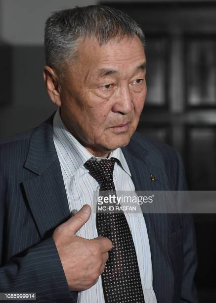 Setev Shaariibuu the father of murdered young Mongolian woman Altantuya Shaariibuu who is expected to testify in a civil lawsuit into her daughter's...
