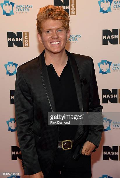 Seth Alley attends the Inaugural Nash Icon ACC Awards postshow party honoring Reba as the first recipient of the NASH ICON Award at aVenue on...