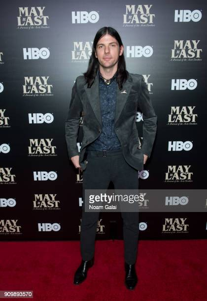 Seth Avett of The Avett Brothers attends HBO's 'May It Last A Portrait of The Avett Brothers' NYC premiere on January 24 2018 in New York City