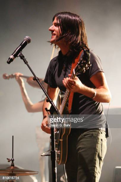 Seth Avett of The Avett Brothers performs at Red Rocks Amphitheatre on July 7 2017 in Morrison Colorado