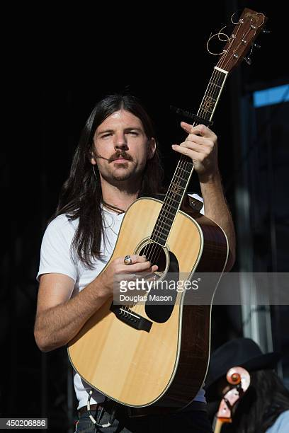 Seth Avett of the Avett Brothers performs during 10th Annual Mountain Jam at Hunter Mountain on June 6, 2014 in Hunter, New York.