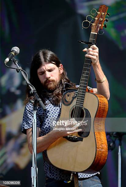 Seth Avett of The Avett Brothers performs during Day 3 of the 2010 Hullabalou Music Festival at Churchill Downs on July 25, 2010 in Louisville,...