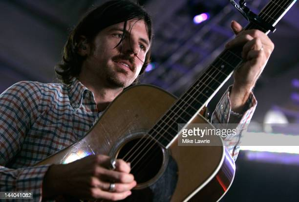Seth Avett of the Avett Brothers performs during the 2012 MLB Fan Cave concert series at the MLB Fan Cave on May 8 2012 in New York City