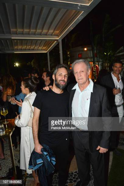 Seth Browarnik and Patrick McMullan attend What Goes Around Comes Around 25th Anniversary Celebration At The Versace Mansion With A Retrospective...