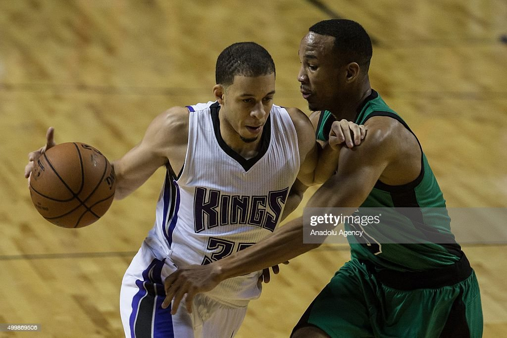 Sacramento Kings vs Boston Celtics : News Photo