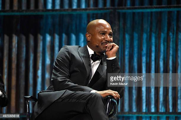 """Seth Gilliam attends AMC's """"The Walking Dead"""" season 6 fan premiere event at Madison Square Garden on October 9, 2015 in New York City."""