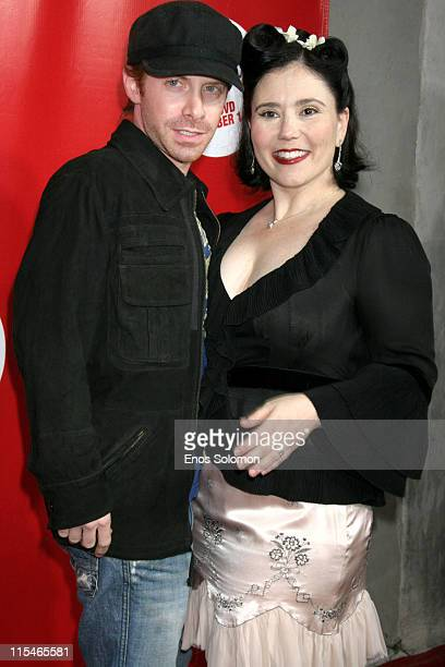 Seth Green and Alex Borstein during Alex Borstein's ''Drop Dead Gorgeous'' DVD Release Presented By Fox Home Entertainment at ACME Comedy Theatre in...