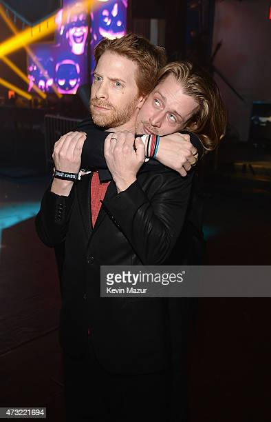 Seth Green and Macaulay Culkin attend the at Terminal 5 on May 13 2015 in New York City 25515_001_0071JPG