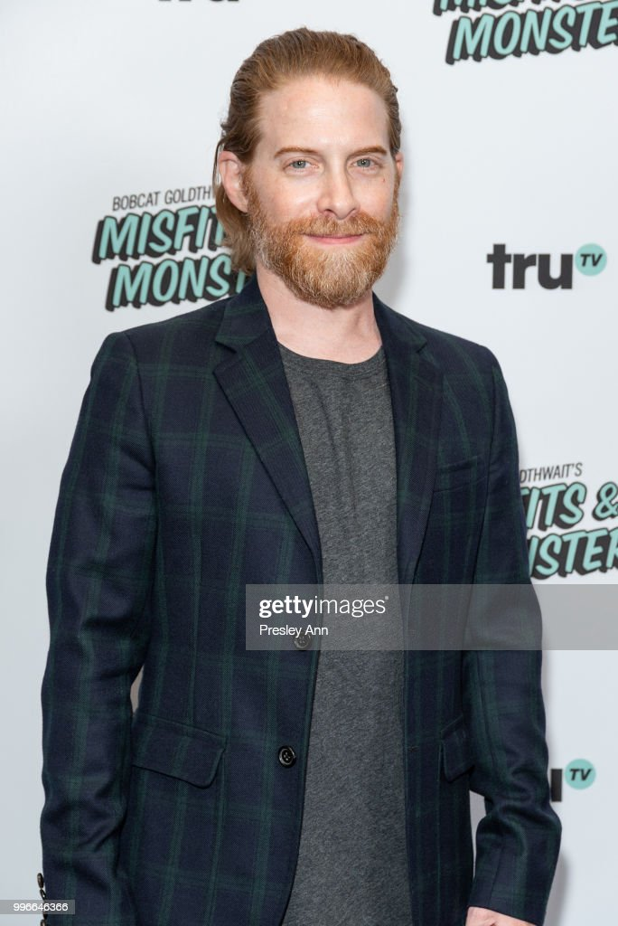 Seth Green attends the premiere of truTV's 'Bobcat Goldthwait's Misfits & Monsters' at Hollywood Roosevelt Hotel on July 11, 2018 in Hollywood, California.