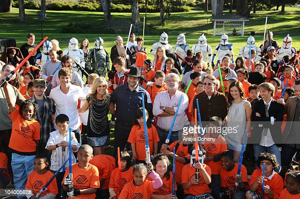 Seth Green, Matt Lanter, Ashley Eckstein, Dave Filoni, George Lucas, Cary Silver, Catherine Taber, James Arnold Taylor, Dee Bradley Baker and the...