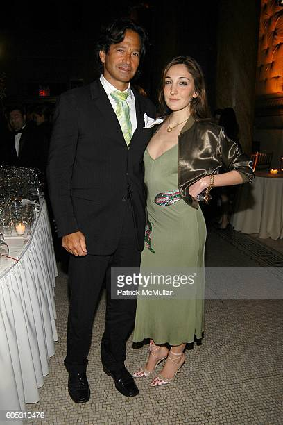 Seth Greenberg and Nicole Romano attend Dennis Basso and Michael Cominotto Dinner in Honor of the DENNIS BASSO Fall/Winter 2006 Collection at...