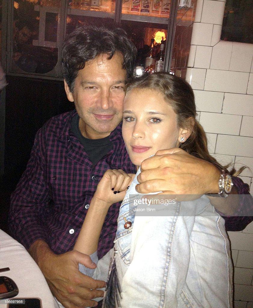 Seth Greenberg and Sasha Martynenko pose circa October 2012 in New York City.