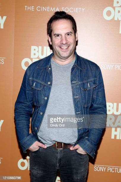 """Seth Herzog attends Sony Pictures Classics and The Cinema Society Special Screening of """"The Burnt Orange Heresy"""" at The Roxy Cinema on March 05, 2020..."""