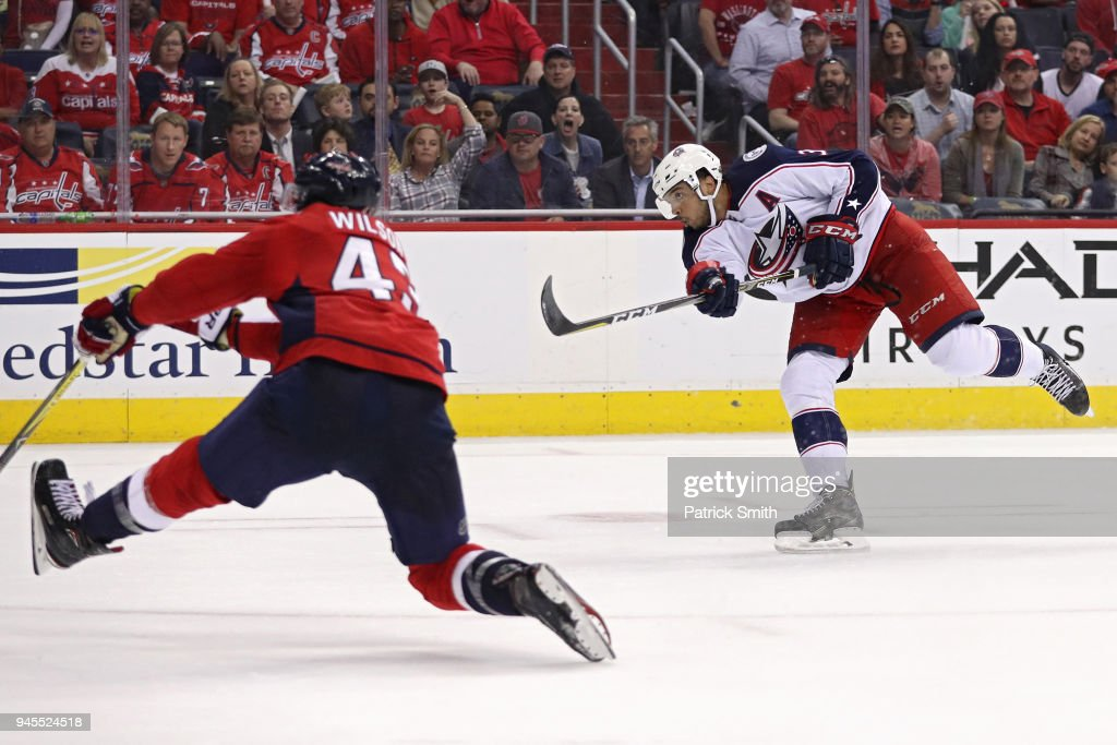 Columbus Blue Jackets v Washington Capitals - Game One : News Photo