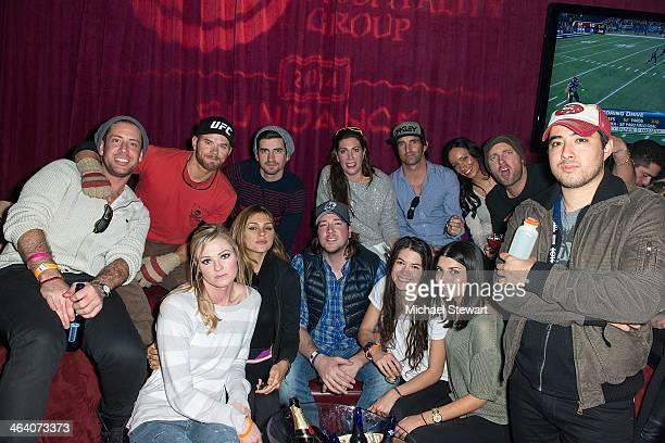 Seth Levine Kellan Lutz Ryan Rottman Jessica Meisels Matt Halliday and guests attend Paige Hospitality Group's Third Annual Sundance Football Game...
