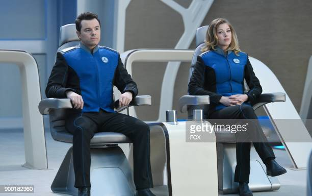 """Seth MacFarlane and Adrianne Palicki in the """"If the Stars Should Appear"""" episode of THE ORVILLE airing Thursday, Sept. 28 on FOX."""