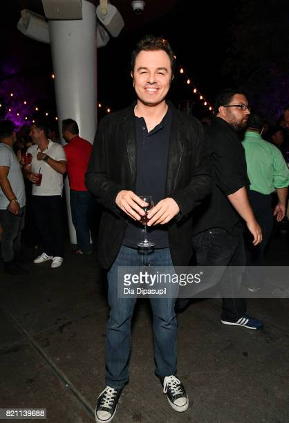 Seth MacFarlane at Entertainment Weekly's annual ComicCon party in celebration of ComicCon 2017 at Float at Hard Rock Hotel San Diego on July 22 2017...