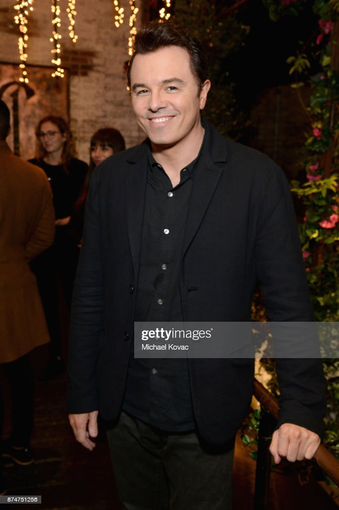 Seth MacFarlane at Moet Celebrates The 75th Anniversary of The Golden Globes Award Season at Catch LA on November 15, 2017 in West Hollywood, California.
