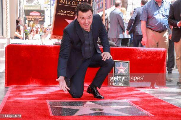 Seth MacFarlane attends a ceremony honoring him with a star on the Hollywood Walk Of Fame on April 23 2019 in Hollywood California