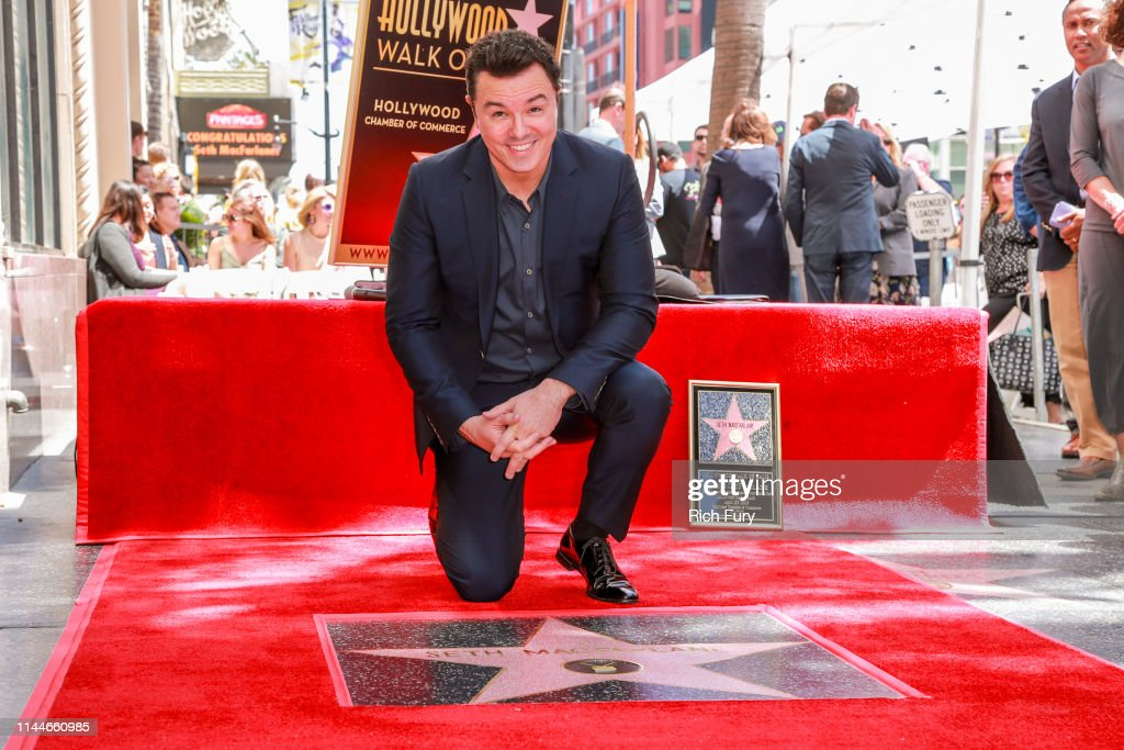 CA: Seth MacFarlane Honored With Star On The Hollywood Walk Of Fame