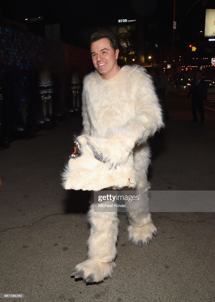 Seth MacFarlane attends Casamigos Halloween Party on October 27, 2017 in Los Angeles, California.