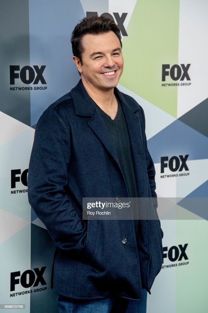 Seth MacFarlane attends the 2018 Fox Network Upfront at Wollman Rink, Central Park on May 14, 2018 in New York City.