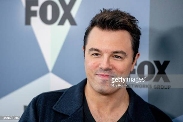Seth MacFarlane attends the 2018 Fox Network Upfront at Wollman Rink Central Park on May 14 2018 in New York City