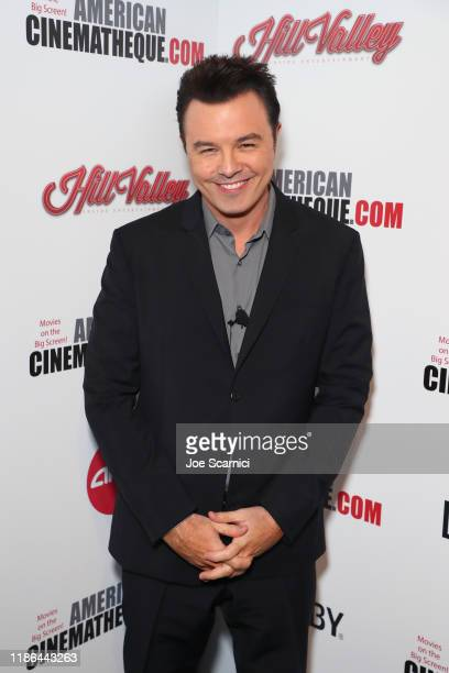 Seth MacFarlane attends the 33rd American Cinematheque Award Presentation Honoring Charlize Theron and The 5th Annual Sid Grauman Award Presented by...