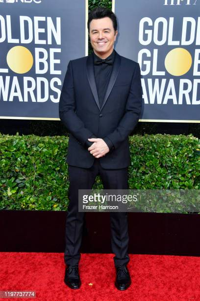 Seth MacFarlane attends the 77th Annual Golden Globe Awards at The Beverly Hilton Hotel on January 05 2020 in Beverly Hills California